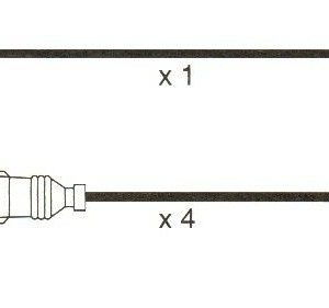Audi A4 1.6, (8d2.b5) Formula Power 10mm Race Performance Plug Lead Set.