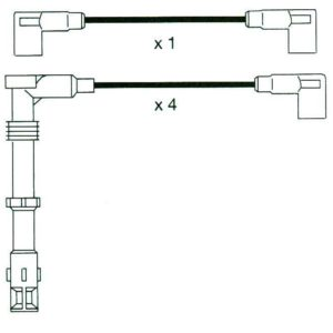 Audi A6, 100, Quatro Formula Power, 10mm Race Performance Ht Plug Leads.fp654