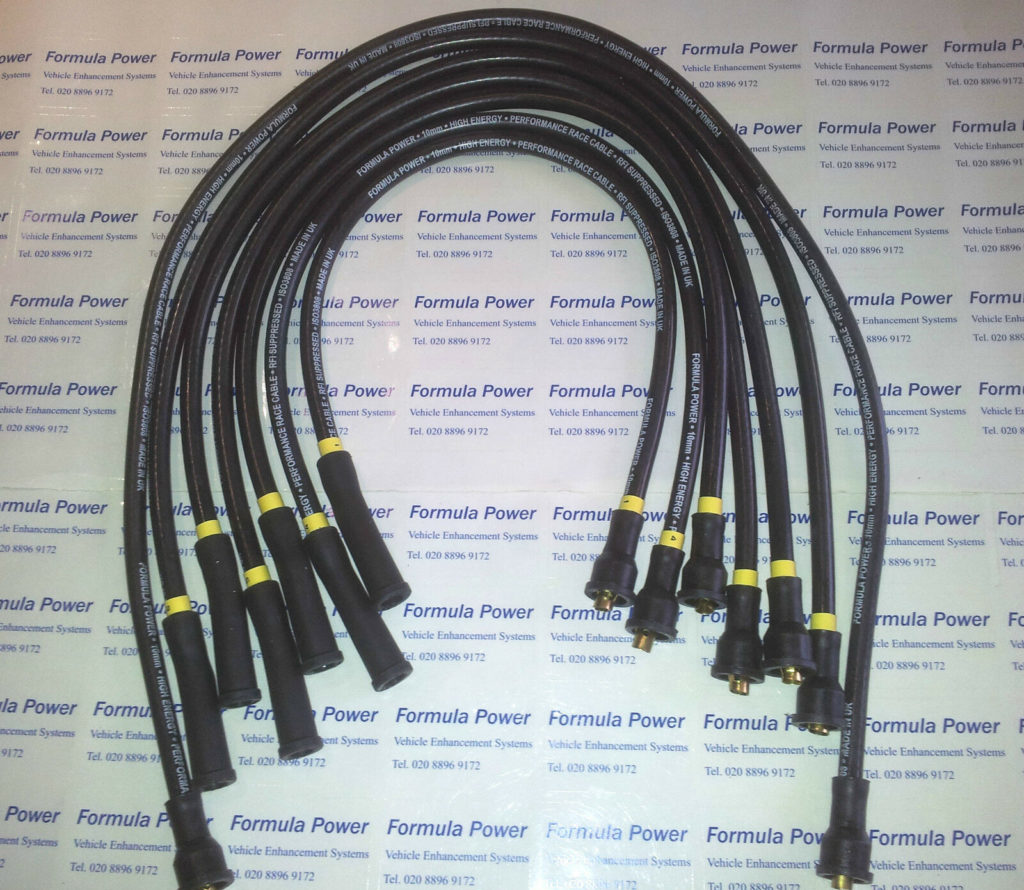 Ferrari Dino Gt, Gts 206, 246, Formula Power 10mm Race Performance Ht Lead Set.