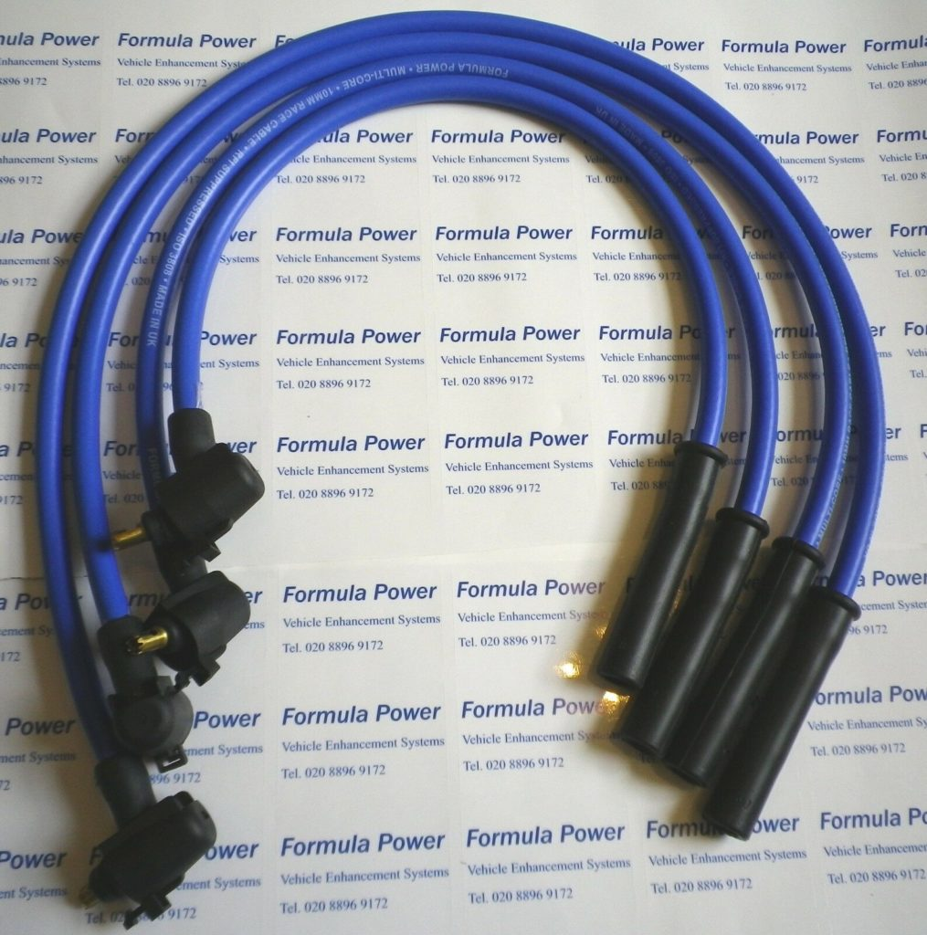 Ignition Leads Fit Ford Fiesta Mk4 Ka, Formula Power 10mm Race Performance Set