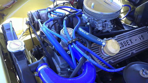 Ignition Leads Ford Granada 2.4 2.9 V6 Formula Power 10mm Race Performance Set