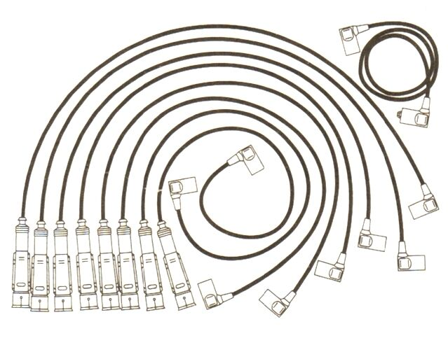 Mercedes Sl380 Sl500 S Class 380 500 Formula Power 10mm Race Performance Leads