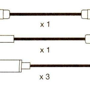 Opel Ascona C, Kadette E. 10mm Formula Power,race Performance Plug Ht Lead Sets