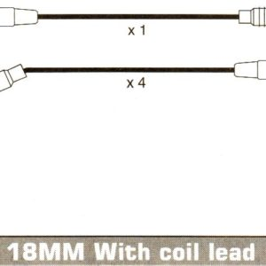 Opel Corsa B C12nz C14nz 12nz Formula Power 10mm Race Performance Ht Lead Set