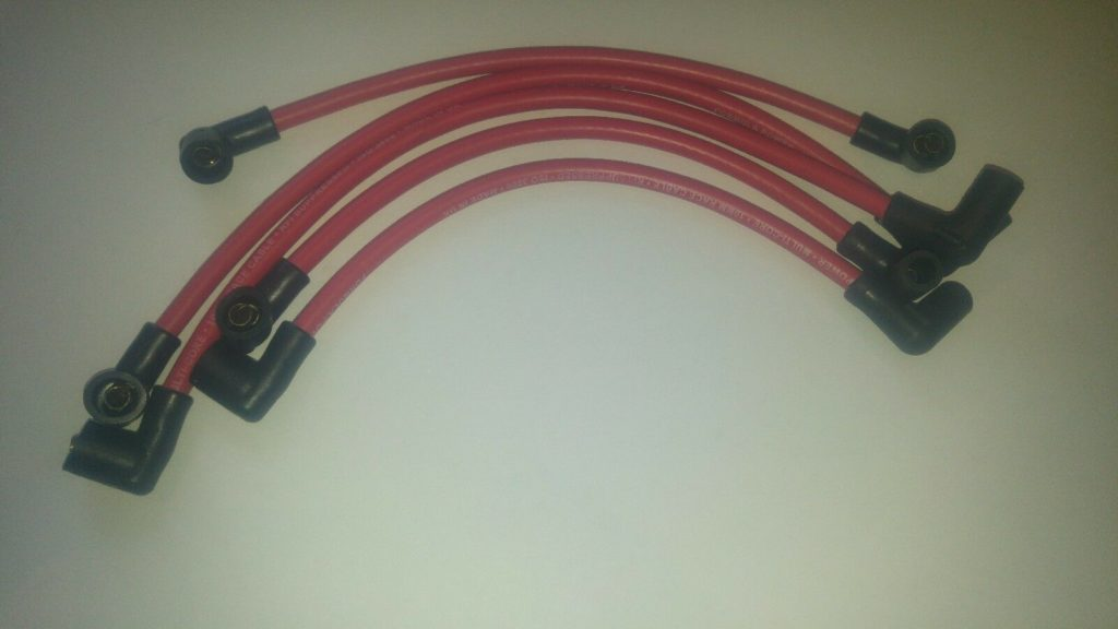 Rover Maestro Mg Formula Power Red 10mm Race Performance Ignition Lead Set