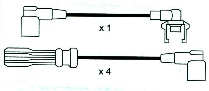Volvo, 740, (744, 745) Formula Power 10mm Race Performance Ht Plug Lead Sets.