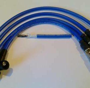 Vw Bora 1.6, 2.0 Ltr, (1j2, 1j6) 10mm Formula Power Performance Ht Plug Leads.