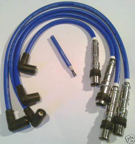 Vw Golf,mk 4,5, Beetle, Passat, 10mm Formula Power Performance Plug Lead Set.