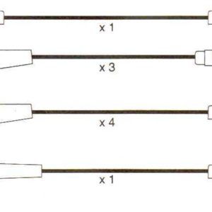 Ignition Leads Range Rover Mk1,v8 4.2, Formula Power 10mm Race Performance Sets