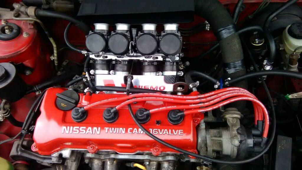 Ht Leads Fits Nissan Micra K11 1.3.16v Formula Power 10mm Race Performance Set