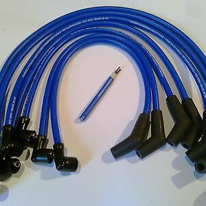 Ignition Leads Fit Ford Sierra 2.9 V6 Formula Power 10mm Race Performance Leads.