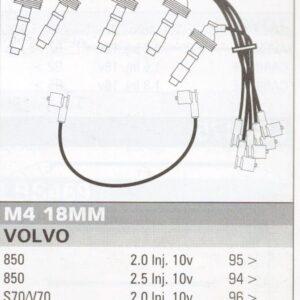 Ford Maverick Transit Connect Focus Mondeo 10mm RACE Performance Power lead set