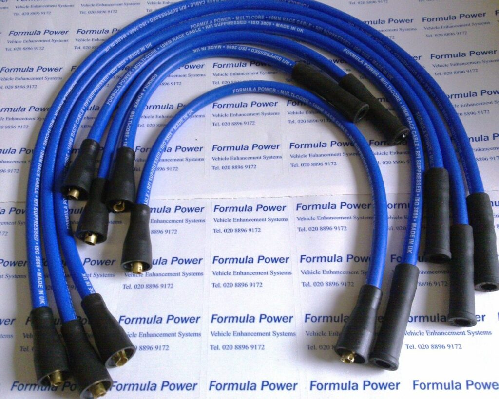 Ignition Leads Opel Omega A, 3.0 V6 Formula Power 10mm Race Performance Set