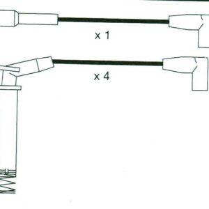 Ignition Leads Vauxhall Astra Mk3 1.6inj Formula Power Race Performance 10mm Set