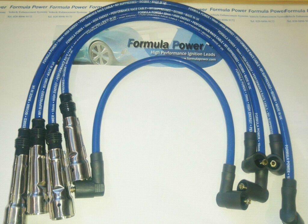 Ignition Leads Vw Lupo 1.0 Inj. 6x1 Formula Power 10mm Race Performance Sets.