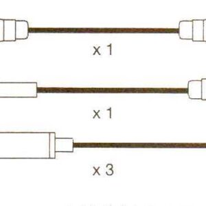 Opel, Omega A, Vauxhall Carlton 3 Formula Power,10mm Race Performance Ht Leads