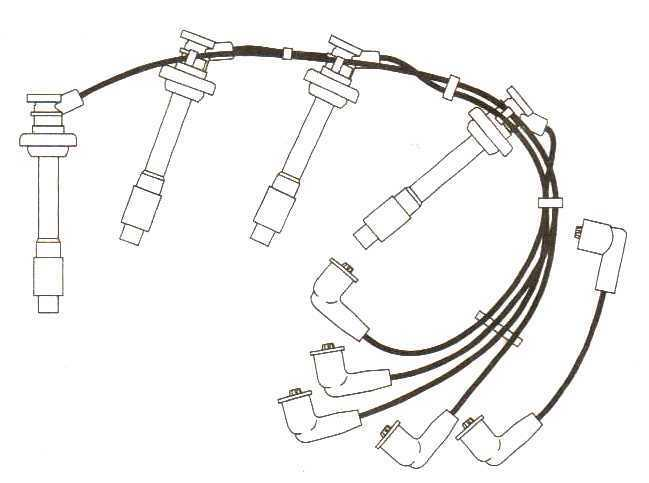 To Fit Nissan Serena 2.0.inj 16v 10mm Formula Power Race Performance Leads Fp189