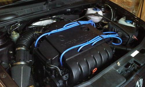 Volkswagen Vr6,golf Vento,  Formula Power 10mm 3 Core Race Performance Lead Sets