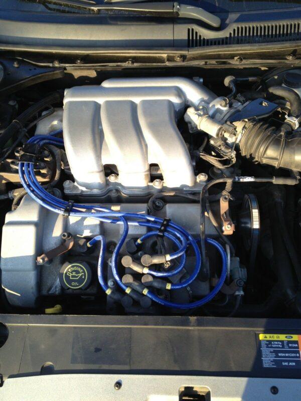 Ht Leads Fits Ford Mondeo 3 Ltr, V6, 24v Formula Power 8mm Race Performance Set